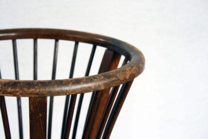 Authentique panier à laine vintage