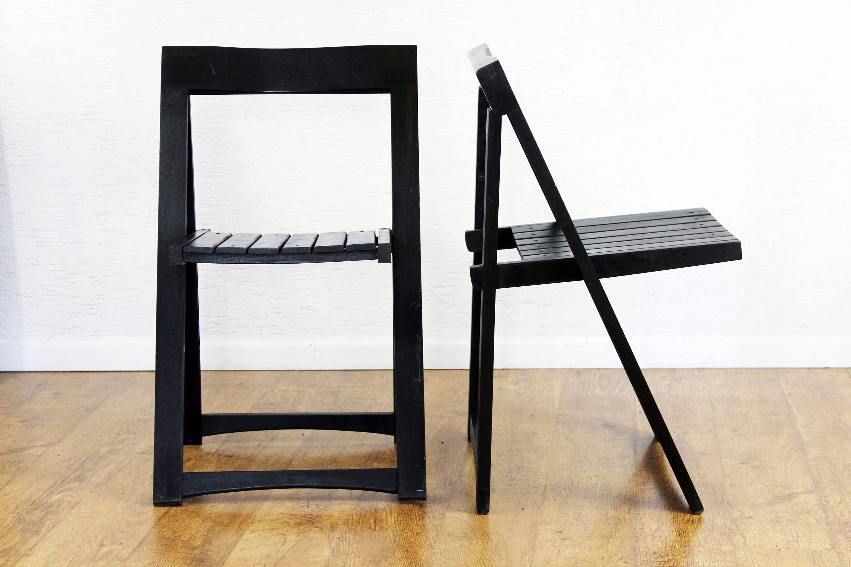 chaises pliantes aldo jacober syn brocante. Black Bedroom Furniture Sets. Home Design Ideas