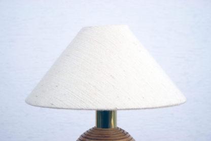 Lampe de table / Rotin