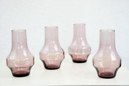 Lot de 4 vases scandinaves