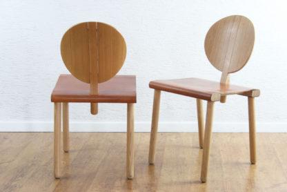 Paire de chaises Gigi Sabadin
