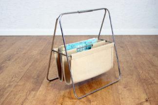 Porte revue vintage en tissu