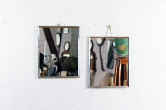 Duo de miroirs de barbier années 20/30