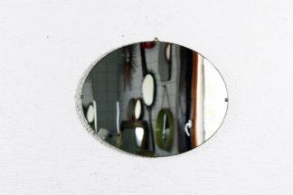 Miroir ovale années 50 double position