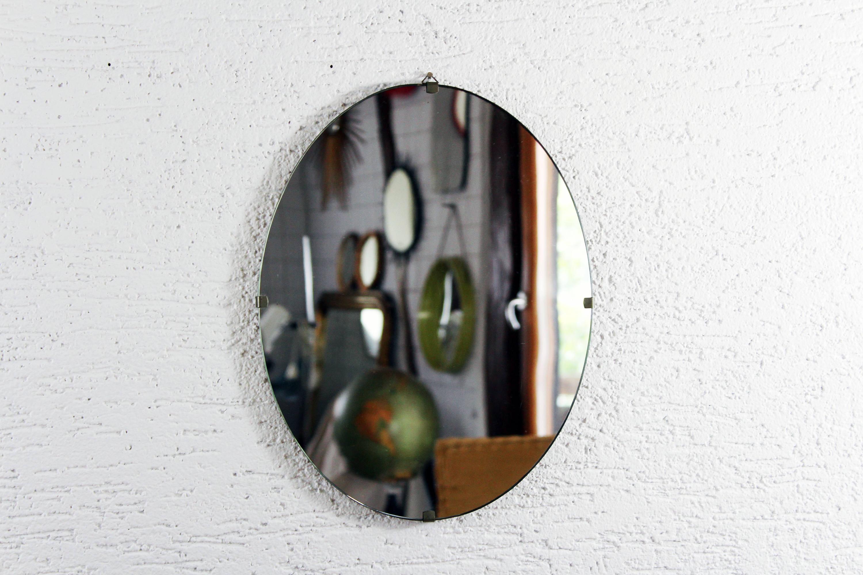 Miroir Année 50 miroir ovale années 50 double position – syn brocante