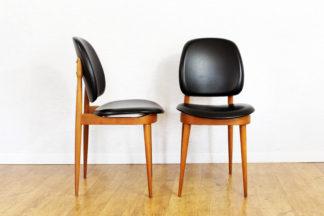 Paire de chaises Pierre Guariche