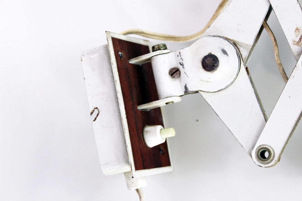 Lampe accordéon ou applique ciseaux vintage