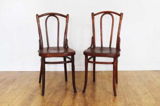 Paire de chaises bistrot Luterma