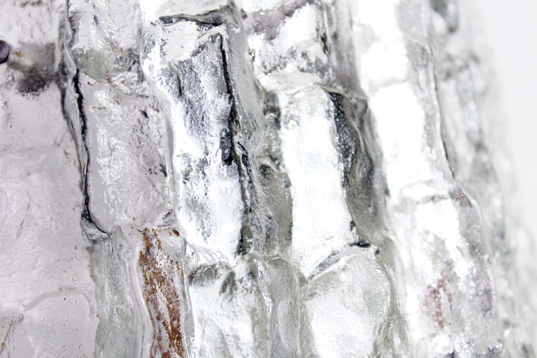 Applique murale en verre givré KALMAR