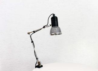 Lampe de bureau articulée vintage
