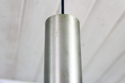 Suspension vintage en métal  et verre