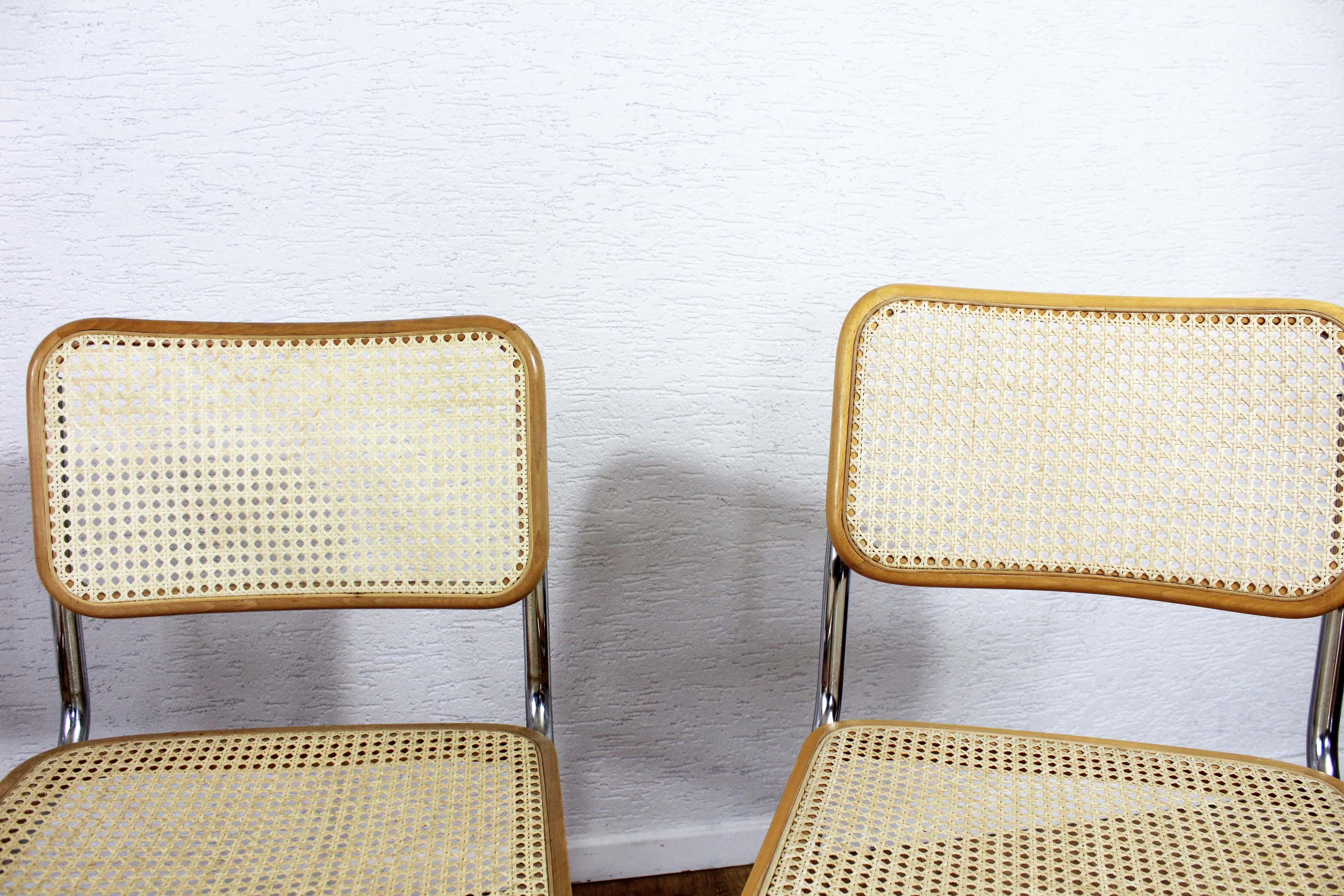 chaise marcel breuer b32 syn brocante. Black Bedroom Furniture Sets. Home Design Ideas