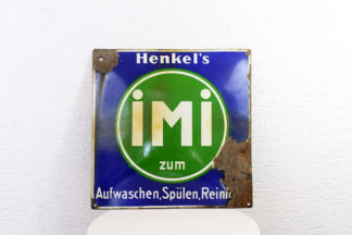 Plaque émaillée Henkel's