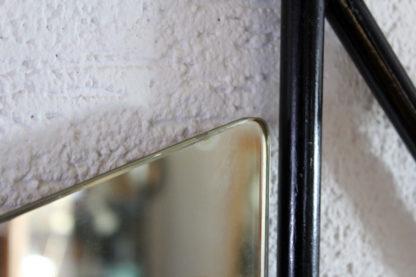 Porte manteau boules années 60/70 avec miroir forme libre