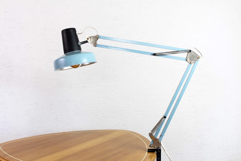 lampe de bureau articul e vintage syn brocante. Black Bedroom Furniture Sets. Home Design Ideas
