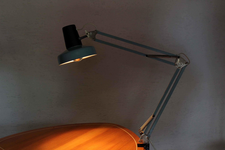 Lampe De Bureau Articulee Vintage Syn Brocante