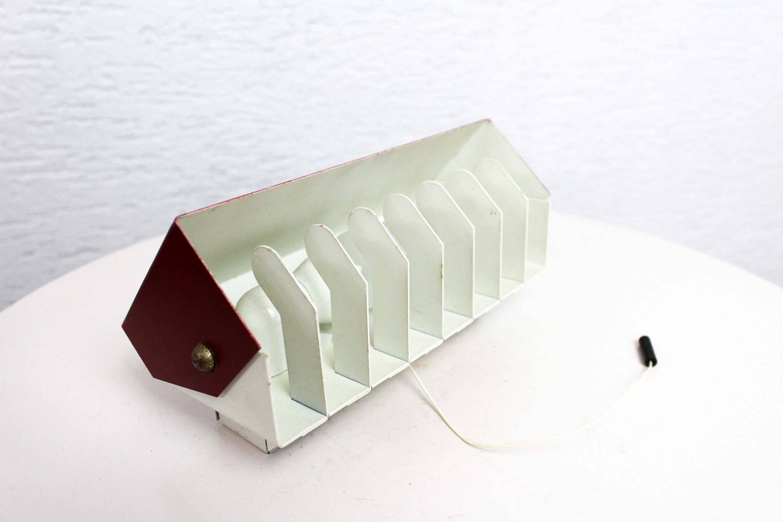 Belle applique en métal moderniste style charlotte perriand u2013 syn