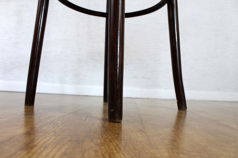 Chaise Bistrot Style Baumann Assise En Tissu Syn Brocante