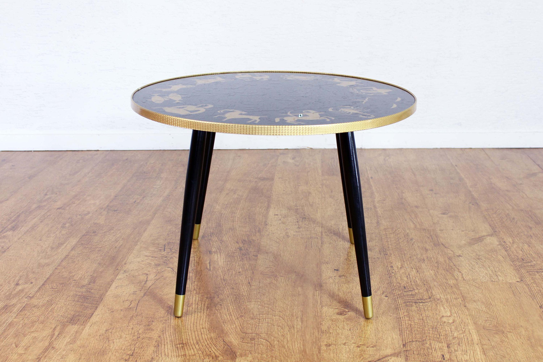 Table Basse En Formica table basse vintage à motifs astrologique