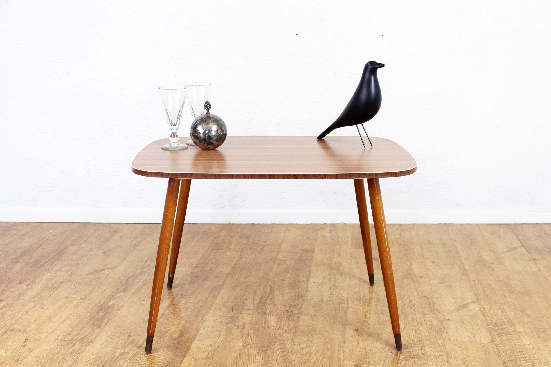 Table Basse En Formica table basse ou d'appoint , table ronde vintage , table années années 60/70  , formica